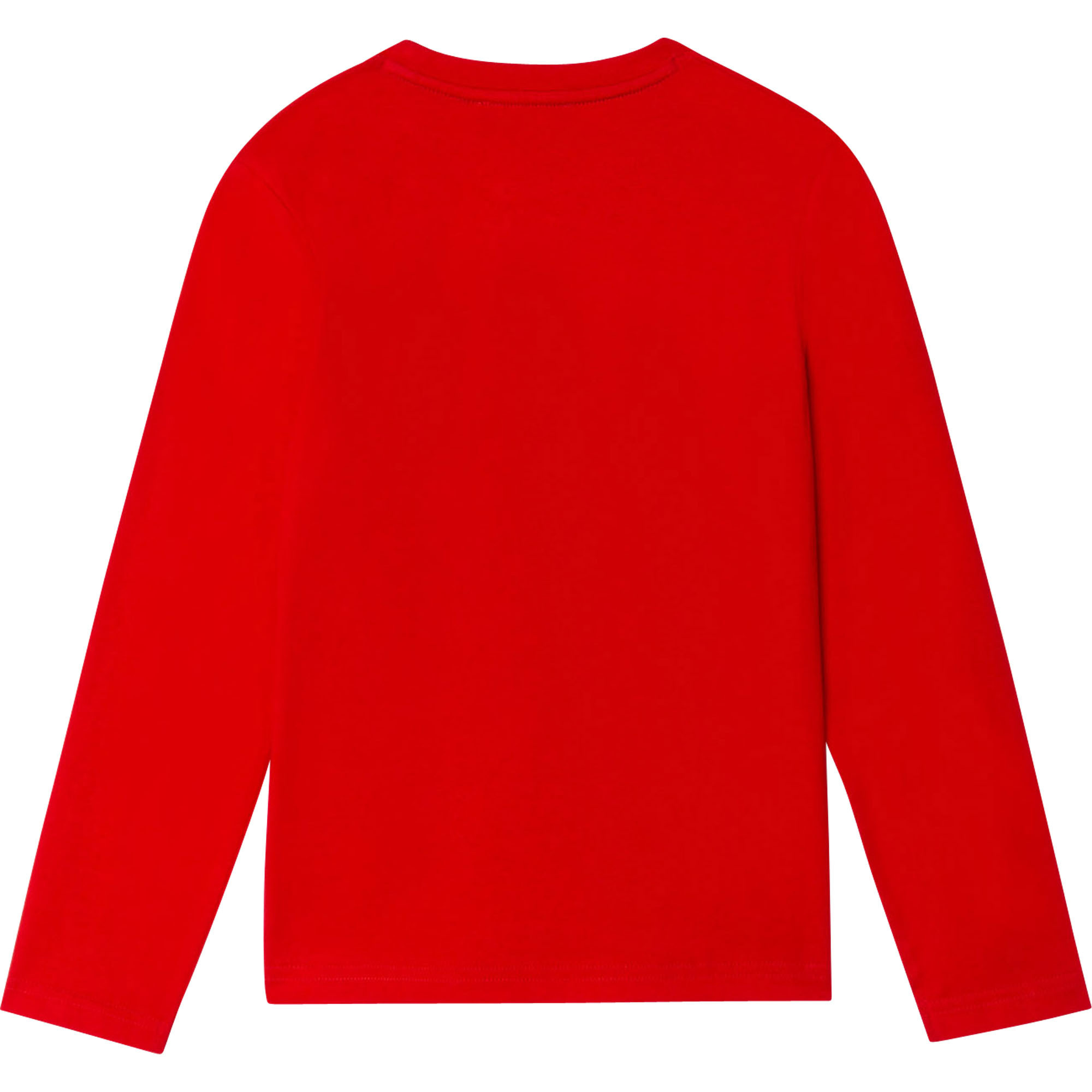 DKNY Red Long Sleeve Top